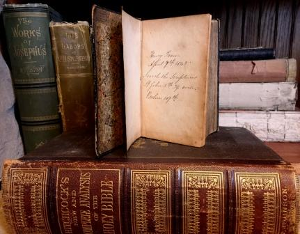 antique books 6c